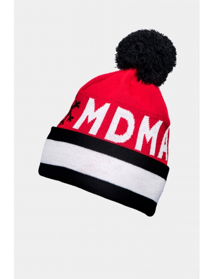 Beanie snow red