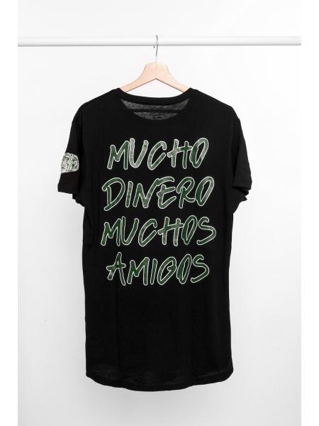 T-shirt Mucho Dinero Muchos Amigos