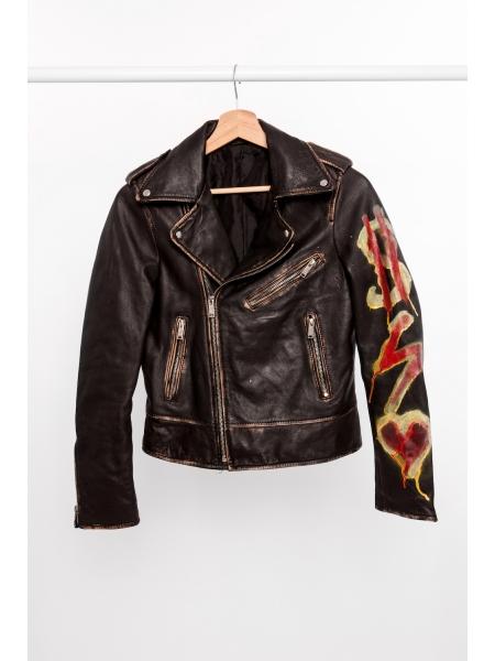 MDMA X GRU Leather Jacket