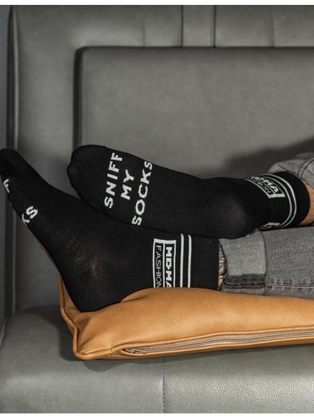 Ponožky Sniff black