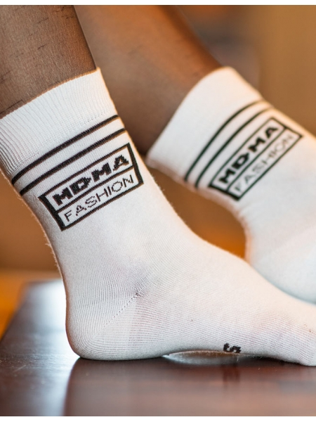 Ponožky Sniff white