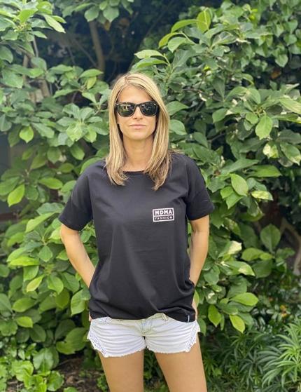 černé tričko dámské