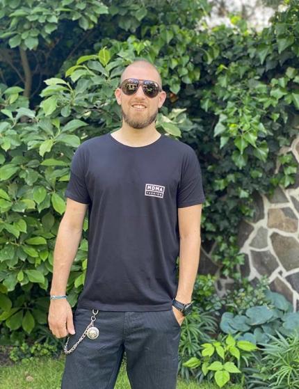 Černé tričko pánské