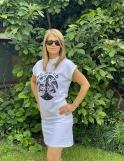 Bílé šaty dámské
