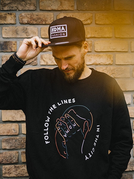Crewneck Follow the lines