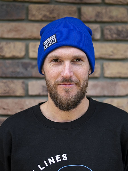 Beanie Insert royal blue