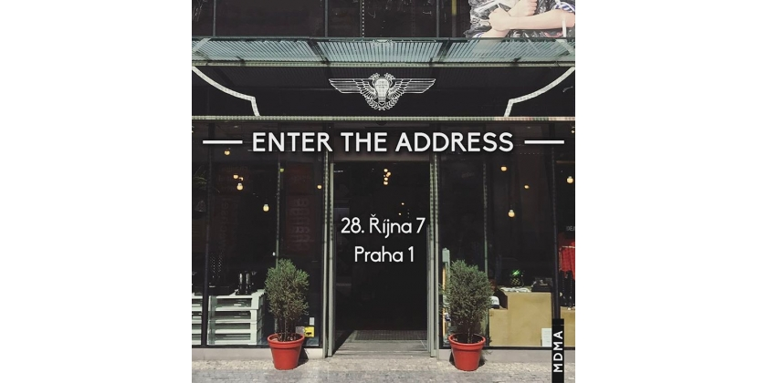NOW YOU CAN MEET WITH US IN THE CENTER OF PRAGUE